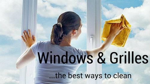 Easy Ways To Clean Windows Grilles Window Grille Door