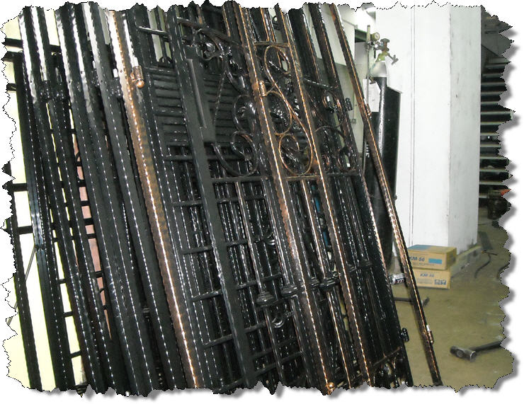Iron Amp Wrought Iron Gates Window Grille Door Com