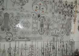House Decor with Wrought Iron Design