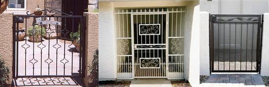 Iron and Wrought Iron Gates