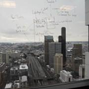 Glass Window Whiteboard