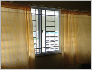 Curtains for privacy